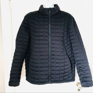 Ben Sherman Black Quilted Zip Up Puffer Jacket